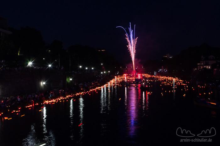 Lichterserenade in Ulm, Juli 2013
