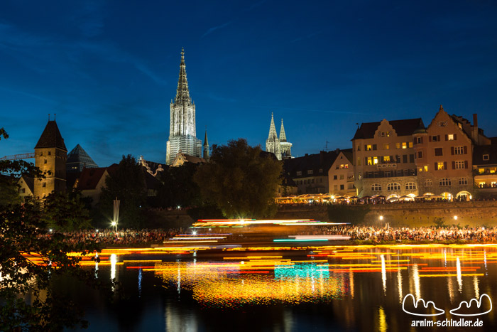 Lichterserenade in Ulm 2014