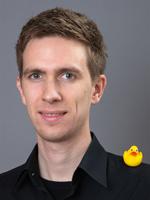 Typ mit Ente